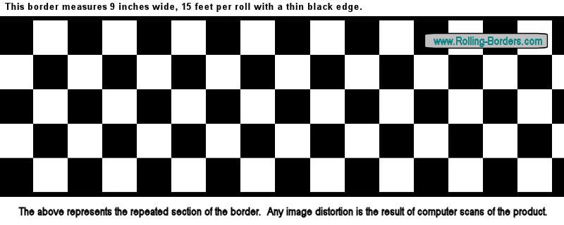 Checkered Wallpaper Border Nascar Car Diner Racing F1 On